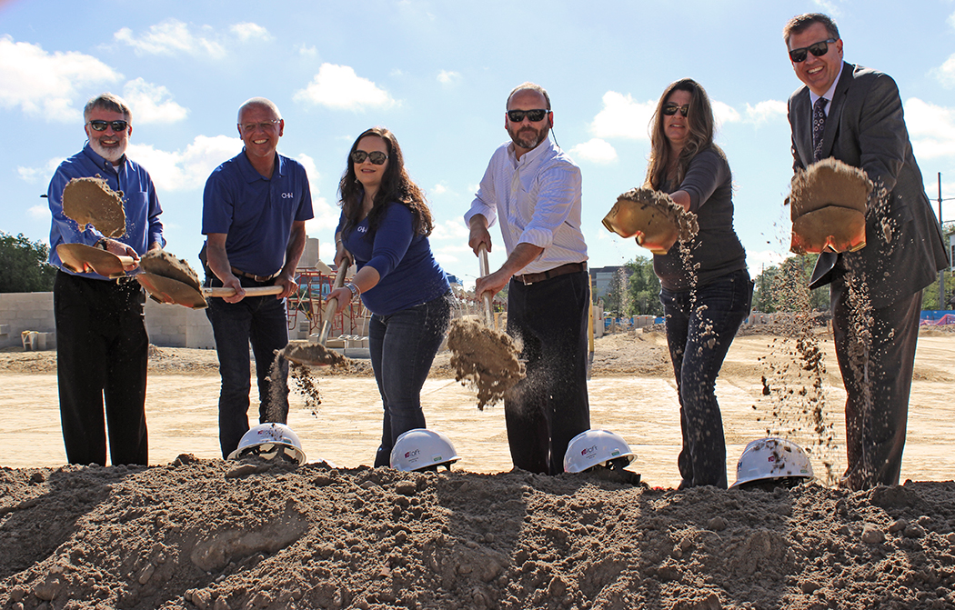 Aloft Hotel Breaks Ground. CHW Civil Engineering, Landscape Architecture, Land Surveying, Land Planning, and CEI Services in Gainesville