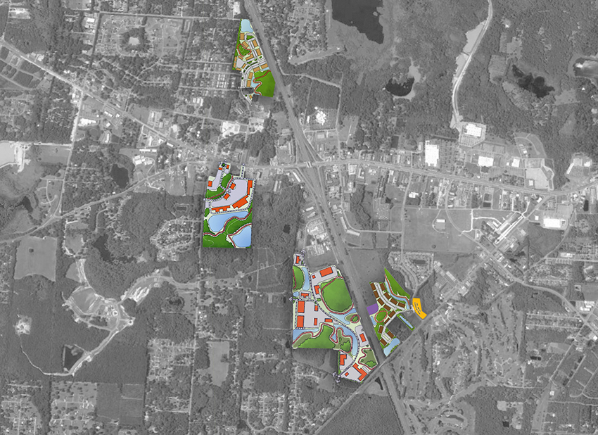In short, CHW provided land planning, urban design, and client advocacy services.
