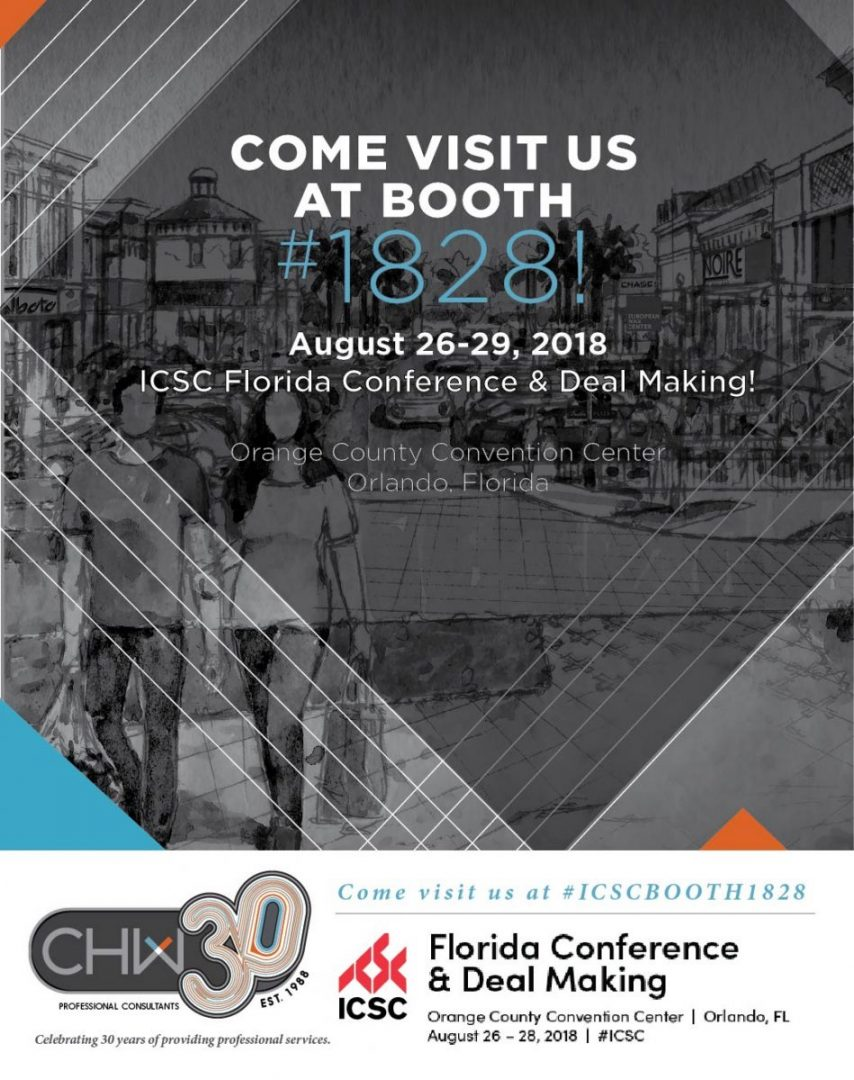 CHW Professional Consultants ICSC Florida Conference and Deal Making