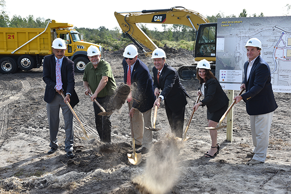 Eco Industrial Park Groundbreaking CHW Provided land planning services