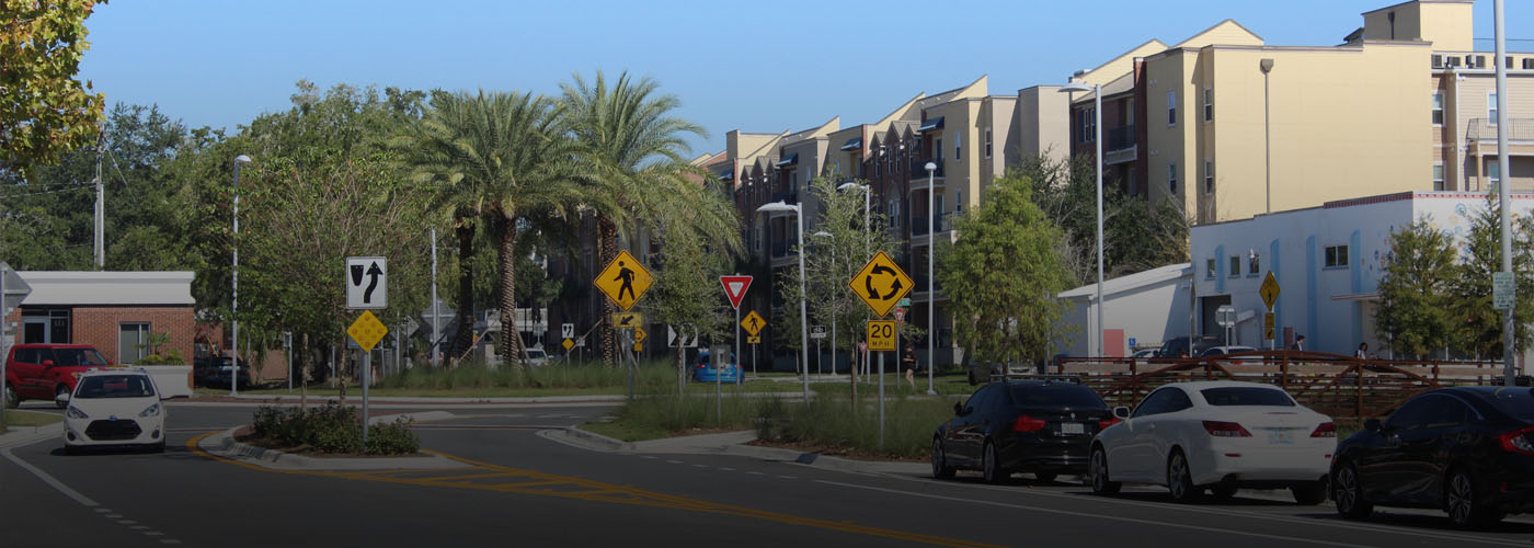 6th St Gainesville FL CHW Provided Landscape Architecture Services