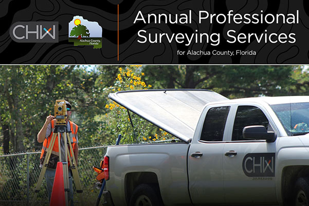 CHW Awarded Alachua County Annual Surveying Contract