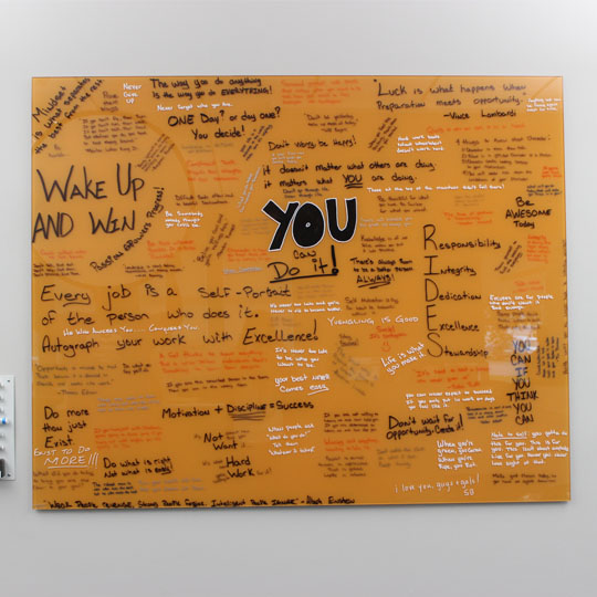 CHW Survey Motivation Board