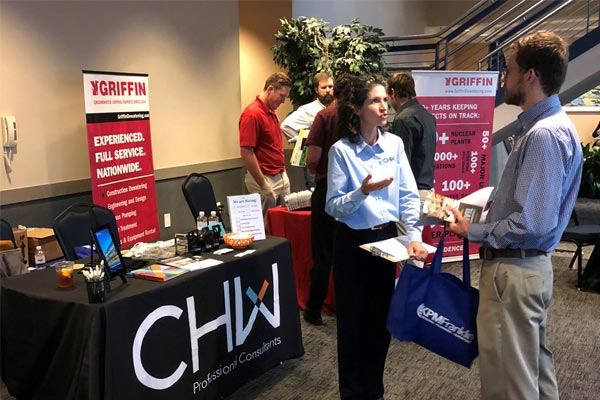 CHW Civil Engineering and Construction Administration at UNF Career Fair