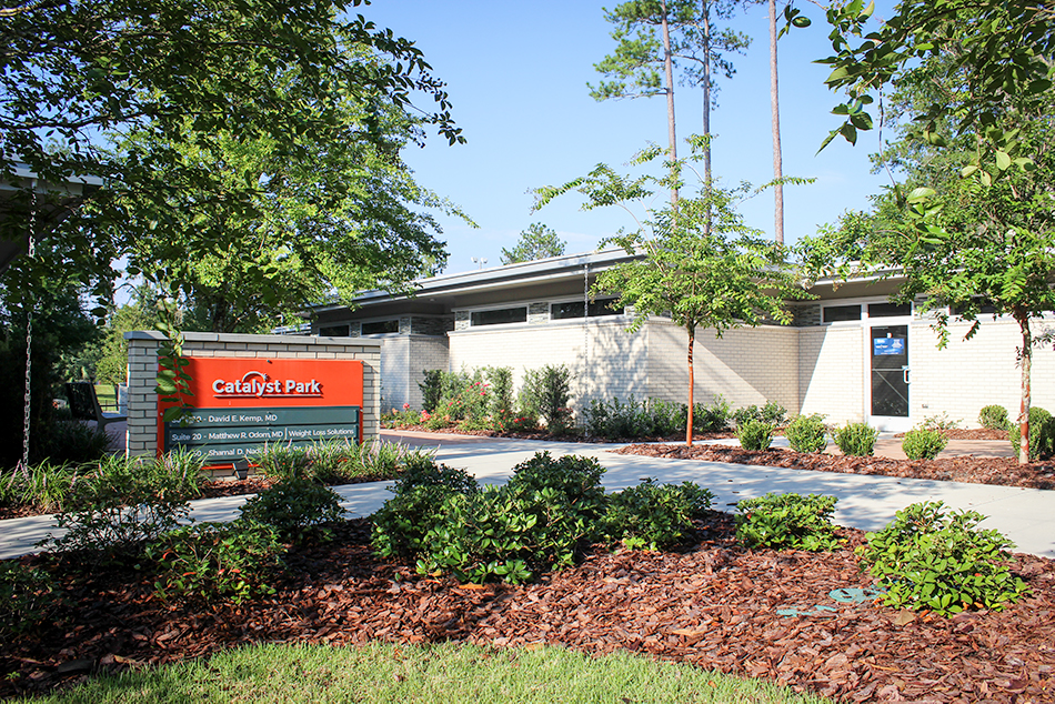 Catalyst Park in Gainesville, FL, CHW provided landscape architecture, design, and construction administration services.