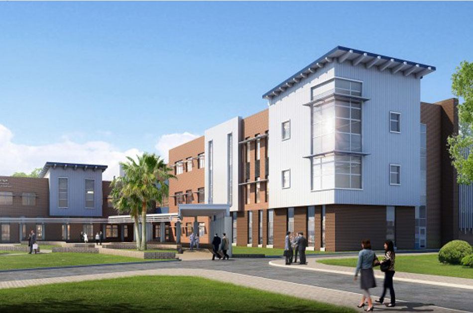 Render of P.K. Yonge Phase II in Gainesville, Florida