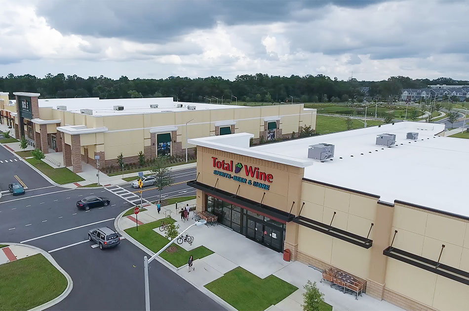 Total Wine CHW provided landscape architecture services for this building in Gainesville, Florida