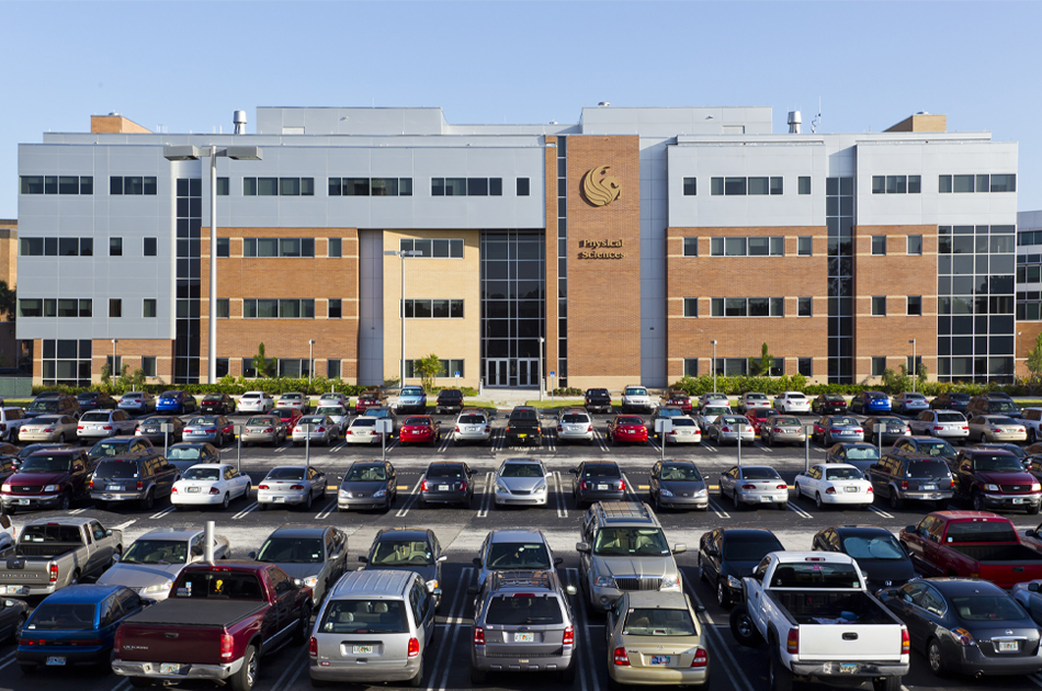 UCF Physical Sciences Phase I and II. CHW provided civil engineering service for this project in Orlando, Florida