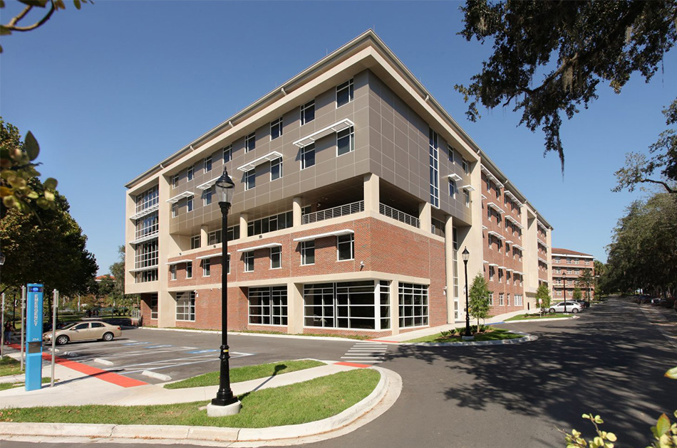 UF Cypress Hall. CHW provided civil engineering services for this project.