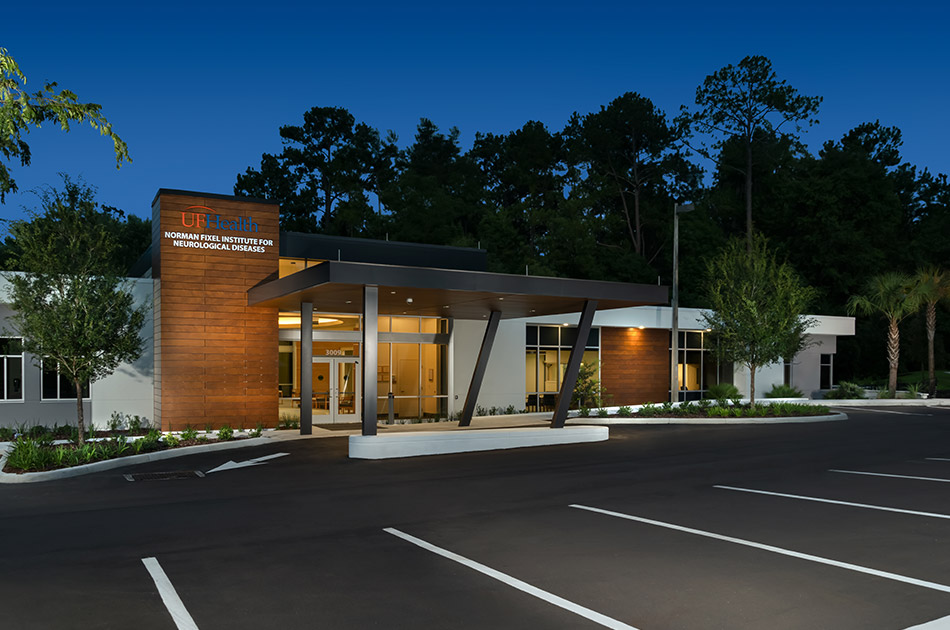 Norman Fixel Center for Movement Disorders. CHW provided landscape architecture for this project.