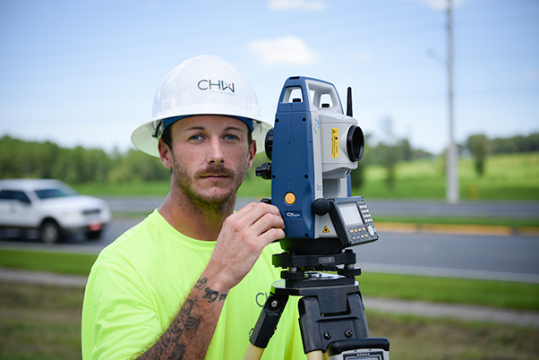 Cody Bryant land surveying Instrument Person at CHW Gainesville, Florida