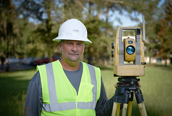 Jon Woods Land Surveyor Crew Chief Gainesville, Florida