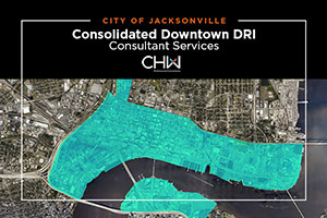 CHW awarded consolidated Downtown DRI consultant services contract in Jacksonville, Florida