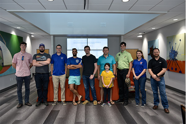University of Florida Geomatics Students at the CHW Headquarters in Alachua, Florida