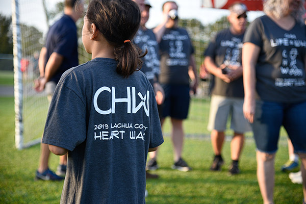 CHW at the 2019 Alachua County Heart Walk