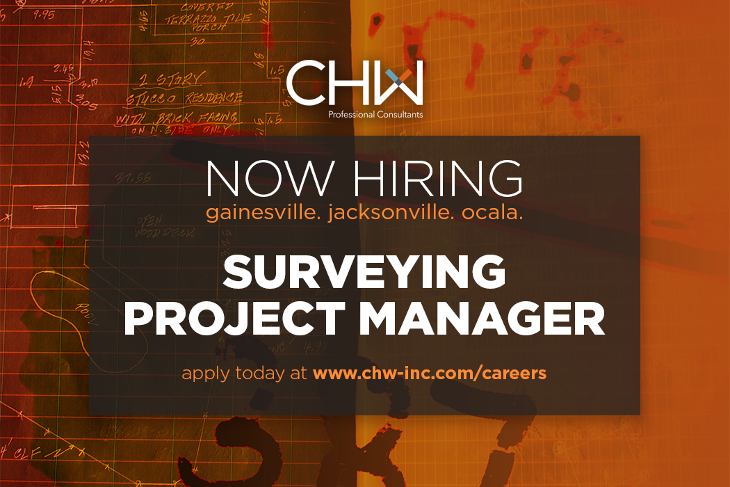 Now Hiring Land Surveyor Project Manager